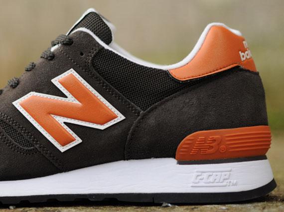 New Balance 670 Orange Brown