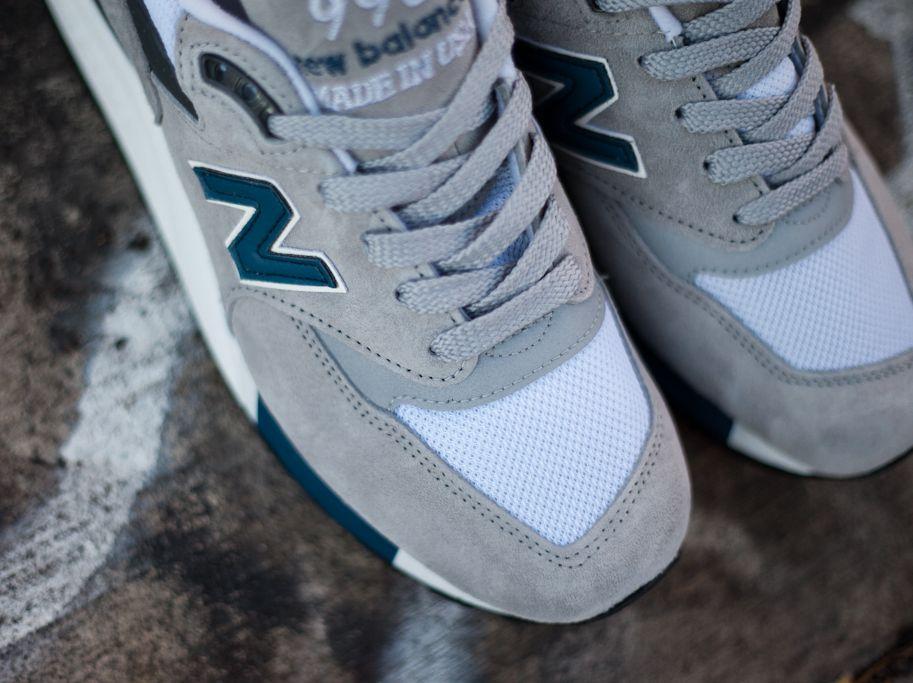 New Balance 998 Gråblå 8YUcu