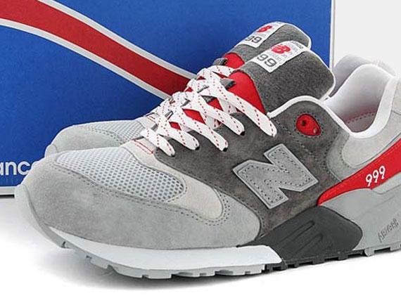 timeless design 53162 4b6b5 new balance 999 red grey