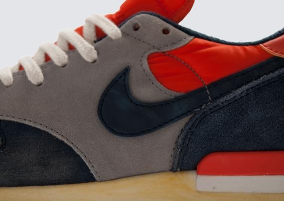 online store a3f88 bb95c Nike Air Epic VNTG – Sport Grey – Obsidian – Team Orange