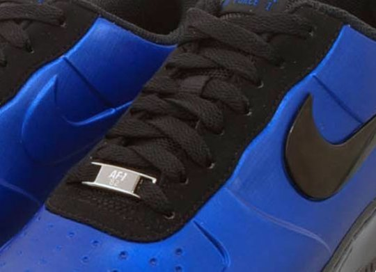 Nike Air Force 1 Foamposite – Royal – Black