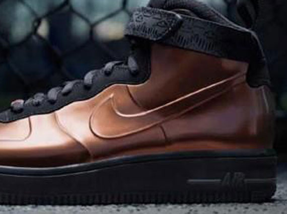Nike Air Force 1 High Foamposite quot BHMquot