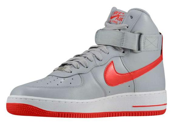 Red Wolf Air Force High Grey Nike 1 Hyper 54Rj3AL
