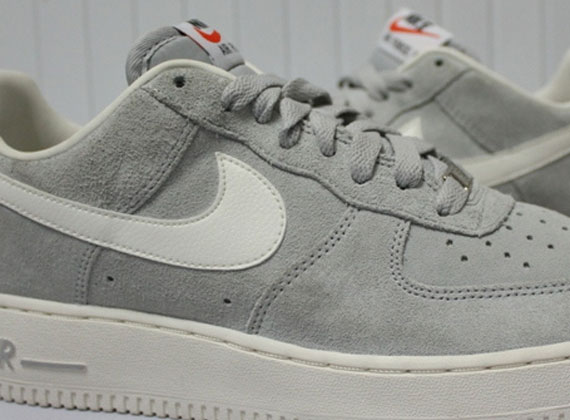 nike air force 1 grey blazer
