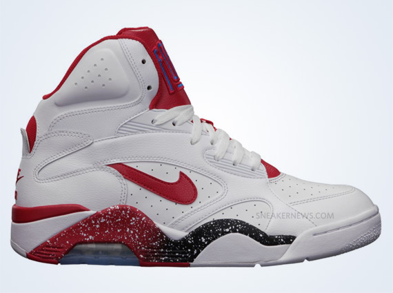 hyperdunk black and red air force 180 charles barkley
