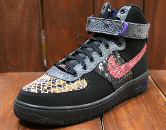 Nike Air Force 1 Salut Cmft Année Premium Du Serpent