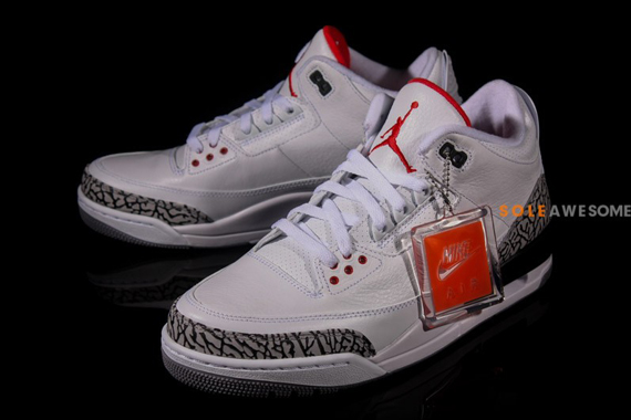 check out 1389c 7f89f low cost jordan 3 white cement nike air 8a94b 05bd4