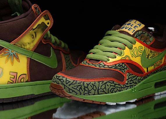 """low priced 3c1c6 b686b Nike Air Max 1 """"De La Soul"""" Customs by JWDanklefs"""