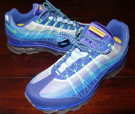 "cheap for discount b89fa b24f9 Nike Air Max 95 Dynamic Flywire ""Livestrong"" Sample"