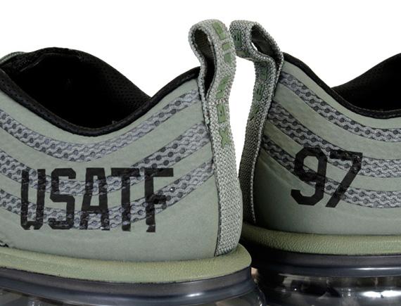 "low priced b17f2 97cc2 Nike Air Max 97 2013 QS ""USATF"" Classic OliveBlack 582918-300. Photos  undftd"
