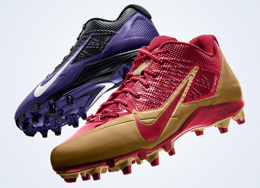 Nike Alpha Pro TD Cleats - Super Bowl