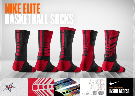 Nike Basketball Inside Access: Behind The Rise of the Nike Elite Basketball Sock
