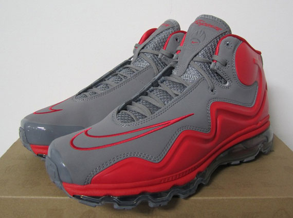 cc1d8b24a3e9 Nike Air Max Flyposite Cool Grey Hyper Red new - cplondon.org.uk