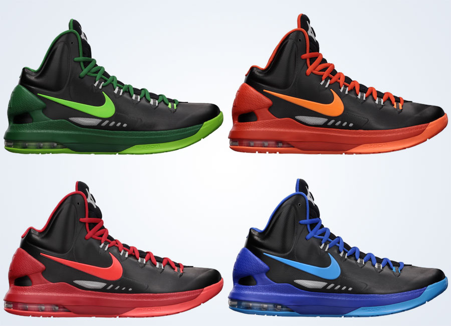 "Nike KD V ""Black Pack"" - Release Reminder - SneakerNews.com"