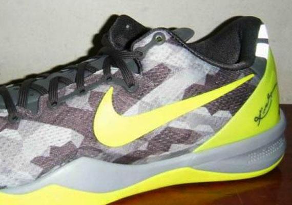 Nike Kobe 8 Grey Volt