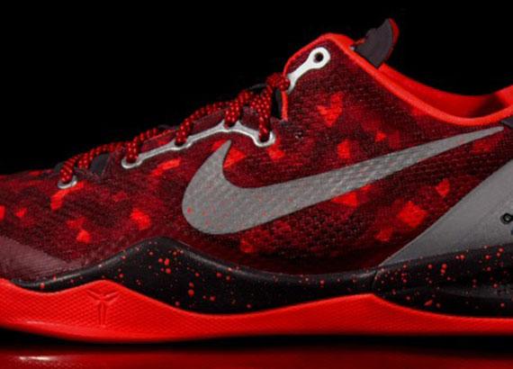 Nike Kobe 8 - Red - Grey - SneakerNews.comKobe 8 Colorways