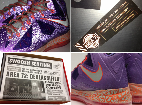"best service 5712a 9d1e4 Nike LeBron X ""All-Star"" – Packaging"