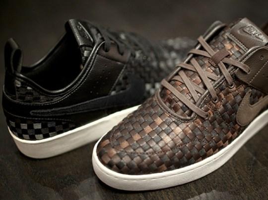 Nike Curtsied Woven – Brown & Black