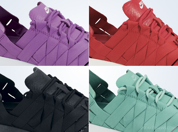 55fcb712fd639 Nike WMNS Roshe Run Woven - Tonal Colorways - SneakerNews.com
