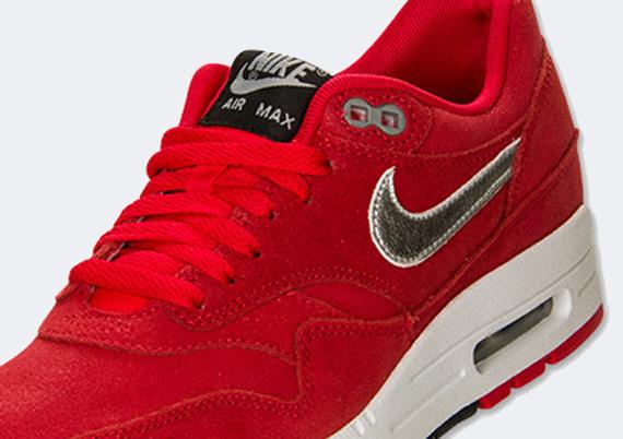 nike wmns air max 1 premium hyper red shoes