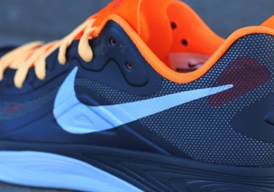 Nike Zoom Hyperfuse 2012 Low – Squadron Blue – Total Orange