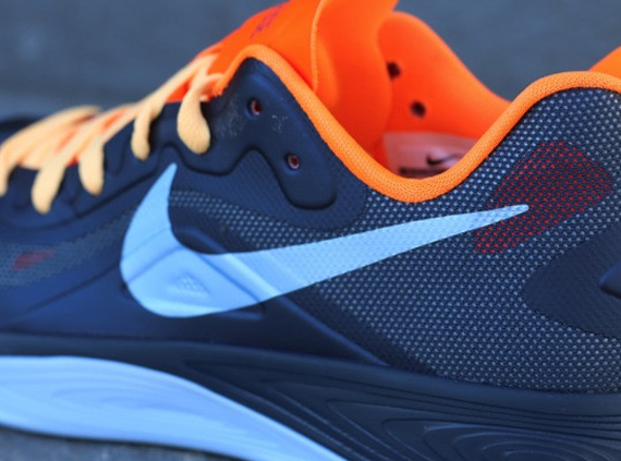 350d2c561ab9 Nike Zoom Hyperfuse 2012 Low - Squadron Blue - Total Orange -  SneakerNews.com