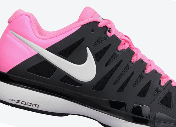 1466b8c9c1f8c Nike Zoom Vapor 9 Tour - Anthracite - Polarized Pink - SneakerNews.com