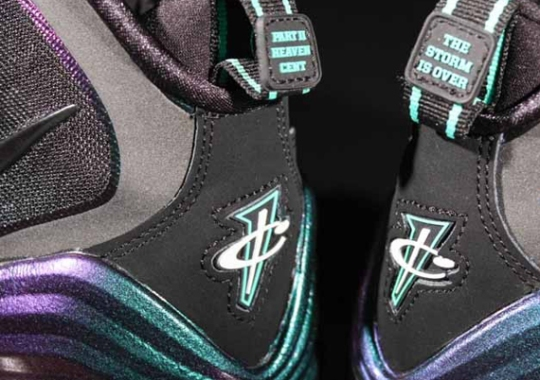"""new concept 2e1ee 5fe8b Nike Air Penny V """"Invisibility Cloak"""" – New Images"""