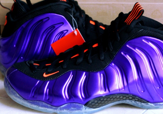 "Nike Air Foamposite One ""Suns"" – Available Early on eBay"