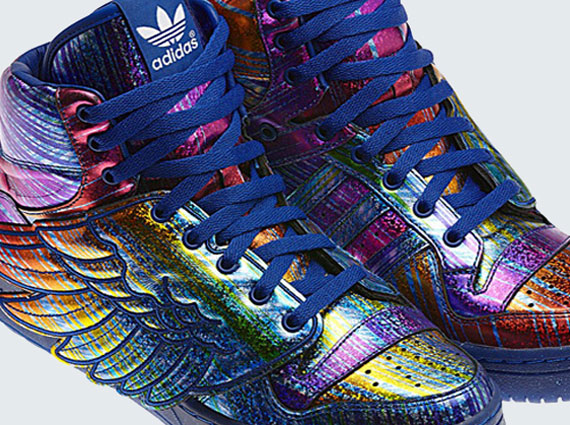 Adidas Jeremy Scott Wings Blue Cheap >Off57% Più Grande Catalogo