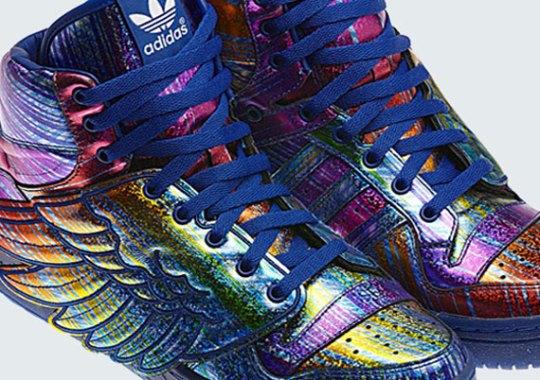 """Rainbow Hologram"" Jeremy Scott x adidas Originals JS Wings"