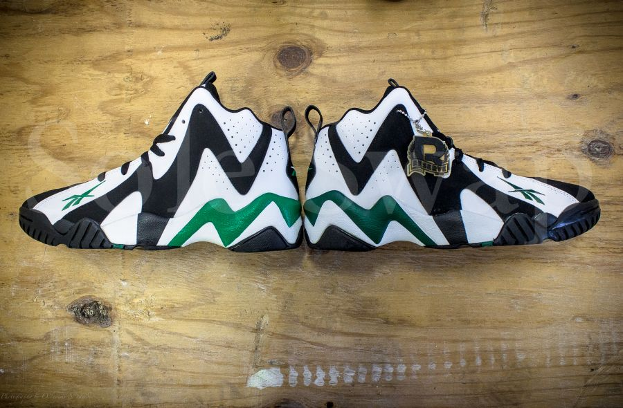Reebok Kamikaze II quotKelly Greenquot Customs by Sole Swap new ... decbeeb2d89e
