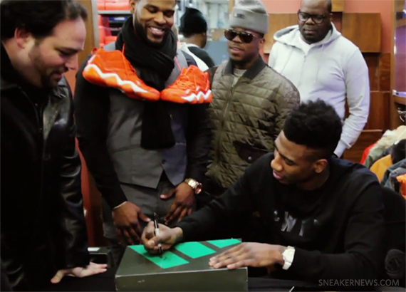 Packer Shoes x Iman Shumpert x adidas Top Ten 2000 - Fuse TV Video Recap -  SneakerNews.com c60401748