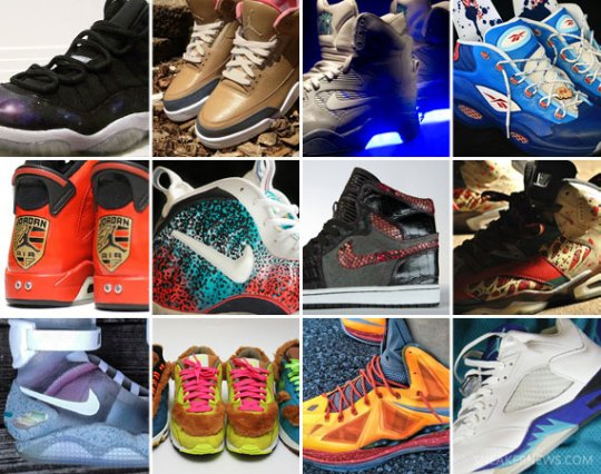 Sneaker News Presents: The Year in Customs 2012