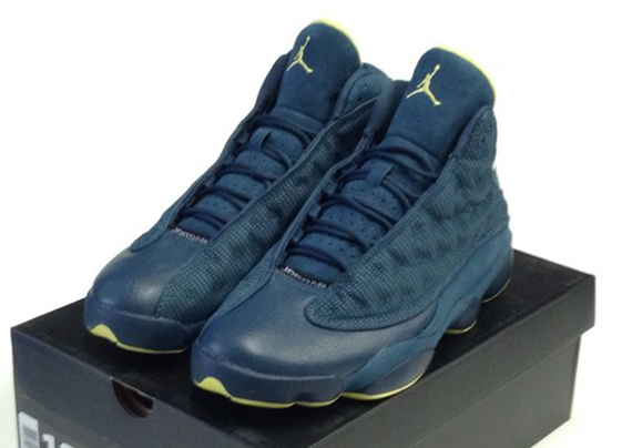 bfc584a12063 Squadron Blue Electric Yellow-Black 414571-405 02 09 13 · 50%OFF Air Jordan  XIII quot Squadron Bluequot Available Early on eBay