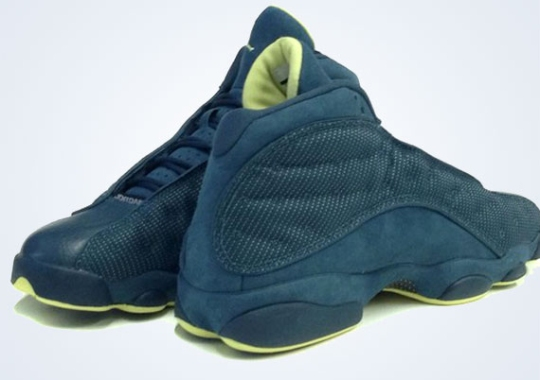 "Air Jordan XIII ""Squadron Blue"" – Available Early on eBay"