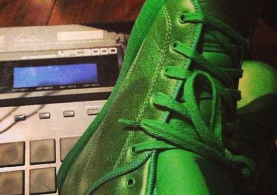 Tyga x Reebok The T-Rawws – Green