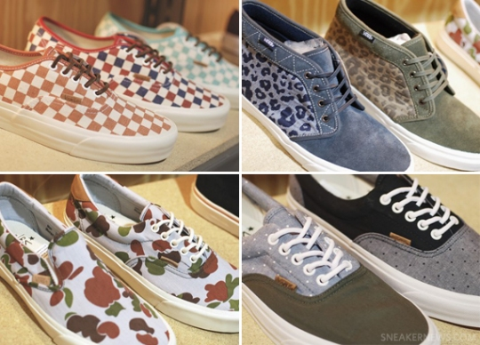 Vans California Collection – Fall 2013 Preview