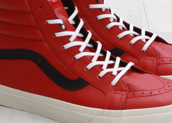 Vans All Red Leather