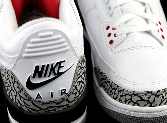 nike air jordan 3 retro 88 white cement