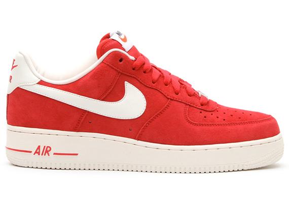 Nike Air Force 1 Faible Blazer Rouge Mens