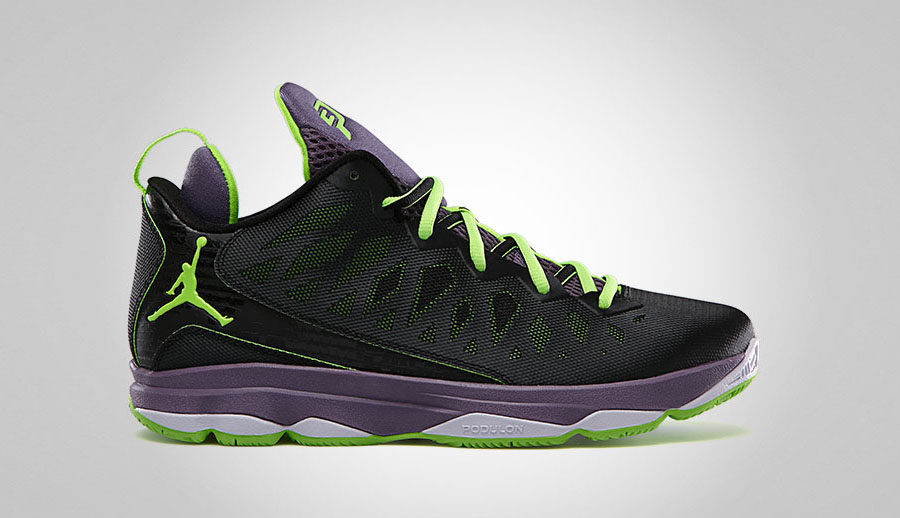 306c8a24df731c Jordan CP3.VI Black Electric Green-Canyon Purple-Pure Violet 584615-038  02 14 13  125. Air Jordan 1 Mid