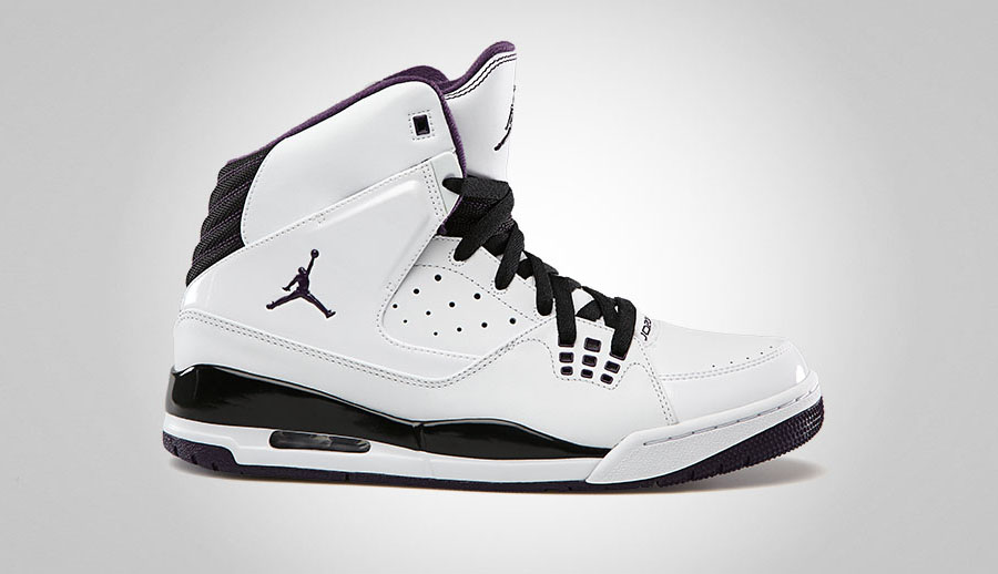 nike air jordan sc 1 white black grand purple team