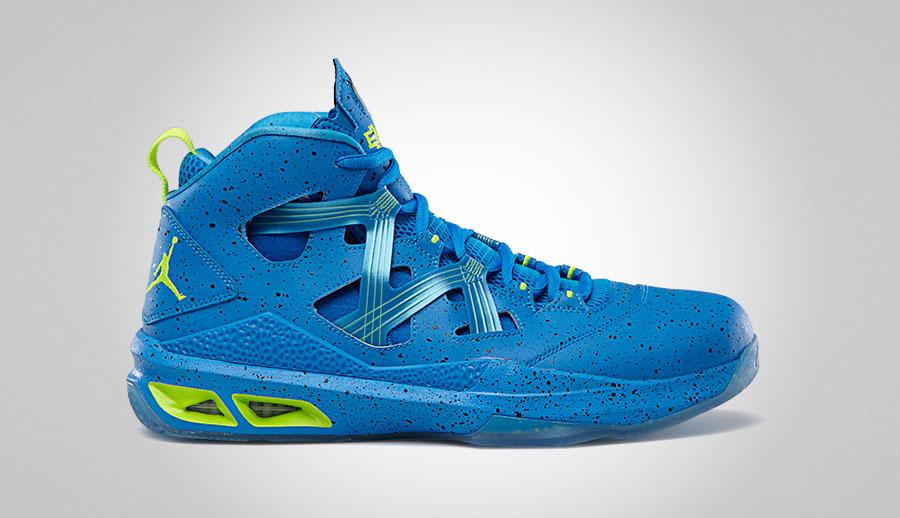 """Jordan Melo M9 """"BHM"""" Photo Blue/Electric Green-Black-White 579592-423  02/09/13"""