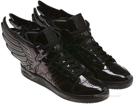 adidas js wings 2.0 black patent