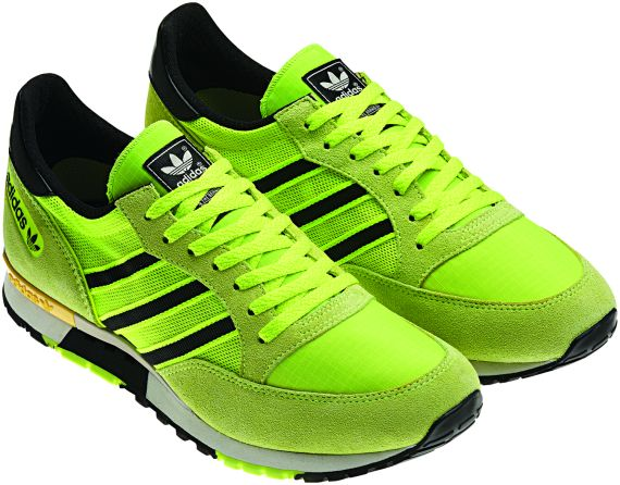 neon adidas shoes