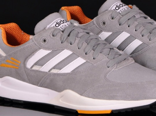 adidas Originals Tech Super – Grey Rock – Joy Orange