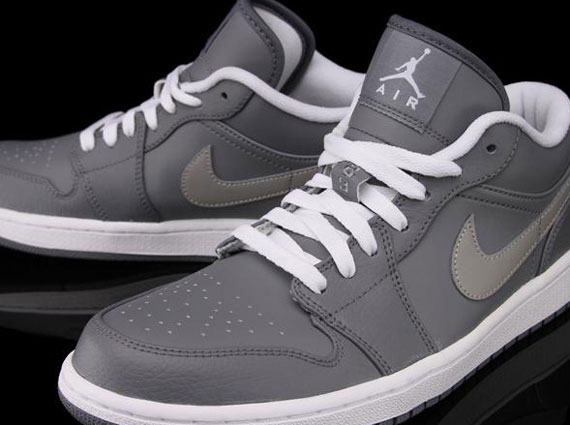air jordan 1 phat low grey