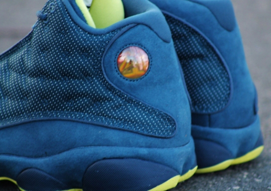 "Air Jordan XIII ""Squadron Blue"" – Arriving at Retailers"
