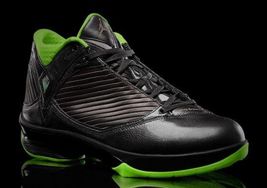 """Air Jordan 2009 """"Black/Neon Green"""" Collection"""